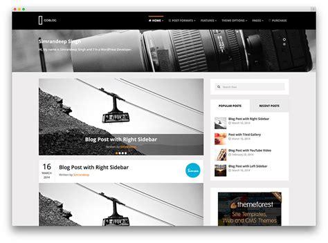 change layout wordpress blog 30 best personal blog wordpress themes 2016 colorlib