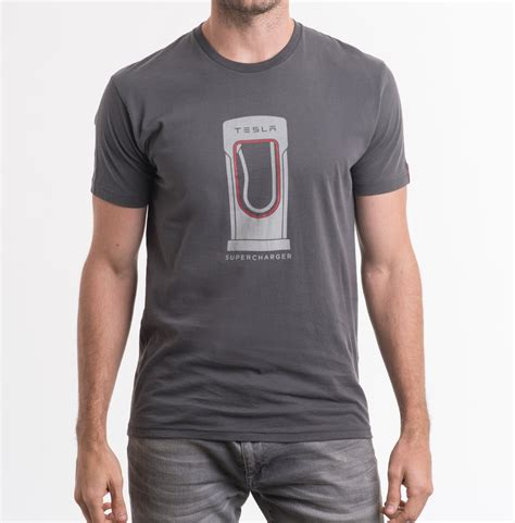 S T Shirt Collections 235g725 tesla s supercharger t shirt