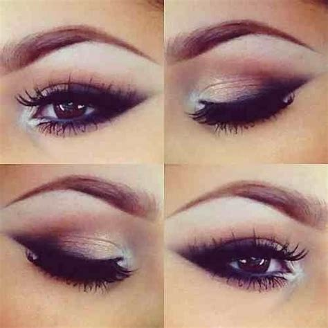 eye classics at the browns and classic pin up eye makeup hair make up nails beautyyyy brown eyes
