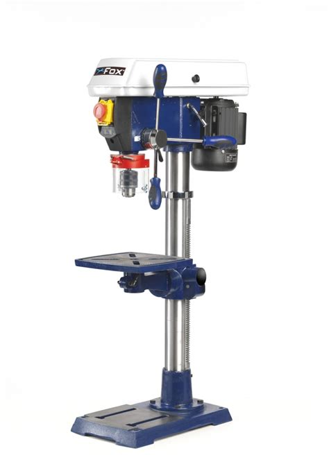 bench top pillar drill fox 13mm drill press bench top pillar drill code f12 921