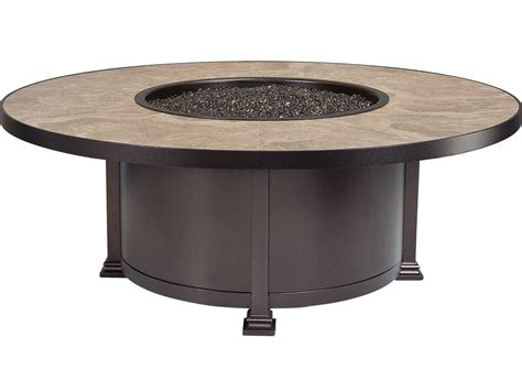 Santorini Pit Table ow casual fireside santorini wrought iron 54