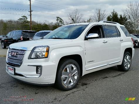 2011 gmc terrain denali for sale 2016 gmc terrain denali in white tricoat 234339