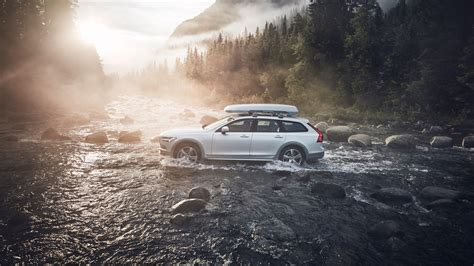 volvo car wallpaper hd 2018 volvo v90 cross country volvo race 4k 2