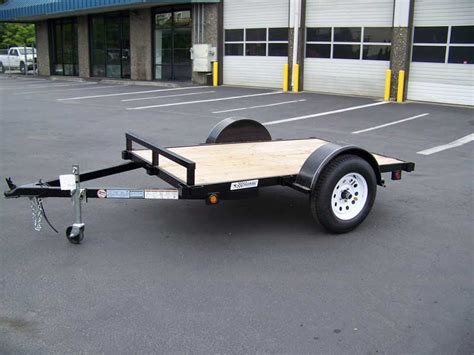 flat bed trailers eagle flatbed series trailers flatbed single axle