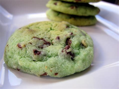 mint chocolate chip cookies recipe dishmaps