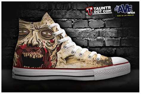 the walking dead slippers the walking dead and breaking bad shoes are now