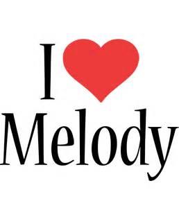 melody logo name logo generator kiddo i love colors