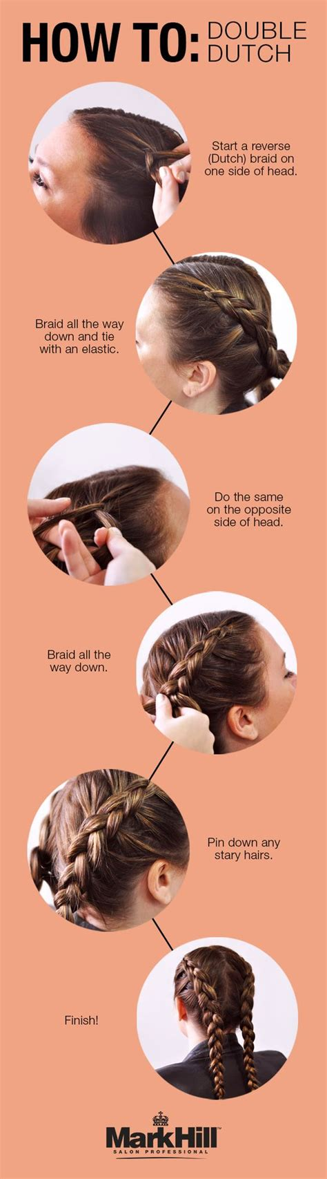 how to do braid own hair yourself with yarn for older women this double dutch braid how to is so quick you ll have