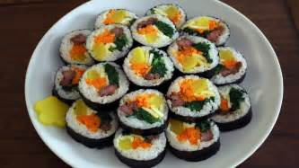how to make gimbap aka kimbap 김밥 youtube