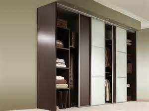 porte coulissante placard penderie aluminium bois leroy