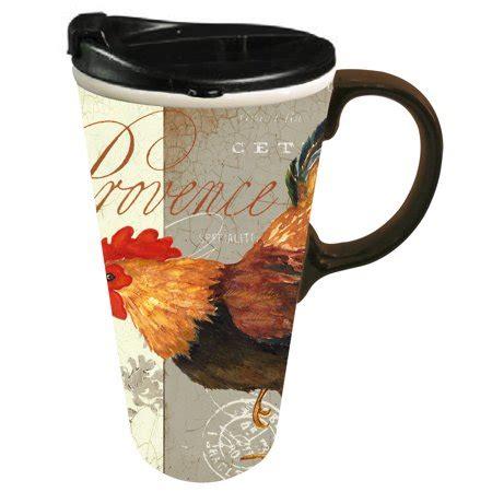10 12 Ounce Coffee Mugs Ceramic - cypress home ceramic provencial travel coffee mug 17