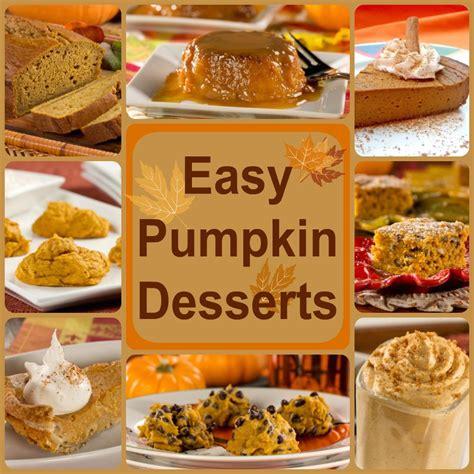 healthy pumpkin recipes 8 easy pumpkin desserts