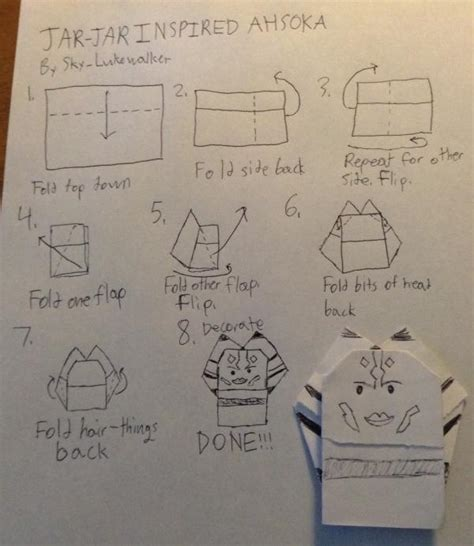 Origami Chewbacca Finger Puppet - search results origami yoda page 60