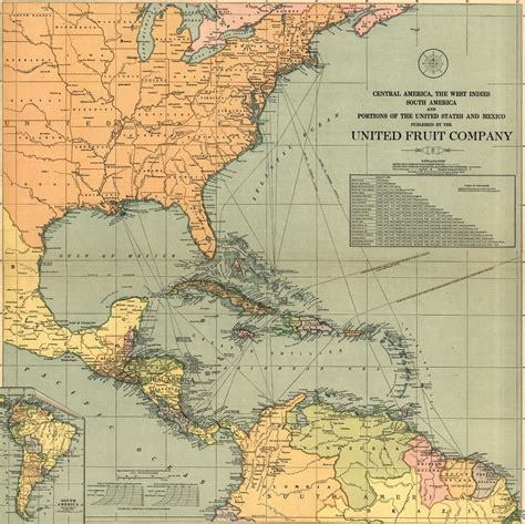 united states and central america map maps of central america
