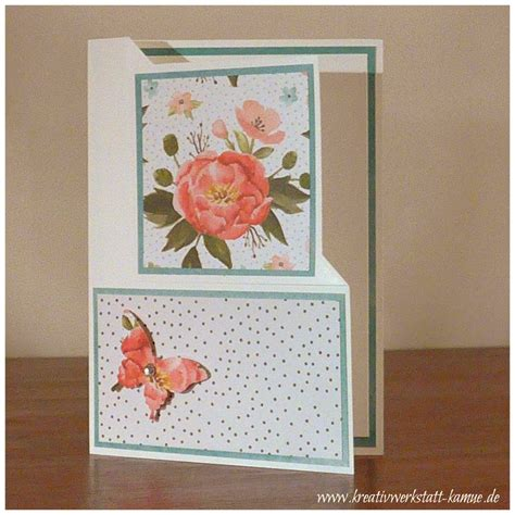card corner corner fold cards kreativwerkstatt