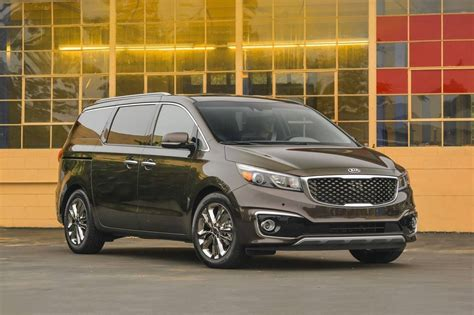 Kia Sedona Passenger Capacity 2017 Kia Sedona Pricing Features Edmunds