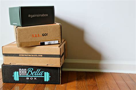 The Best Subscription Boxes For Out Of The Box Best Subscription Boxes For Crossfitters Fitness Hq