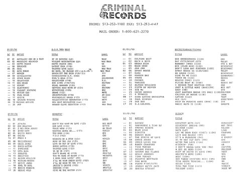 Felony Records Ohio Ephemerarchive Criminal Records Record Store