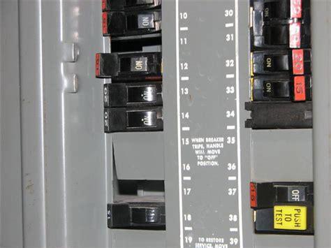 Open Circuit Breaker Slots in Service Panel   InspectraPro