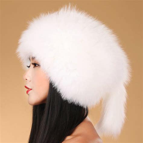 buy wholesale fashion fox fur hats winter warm whole