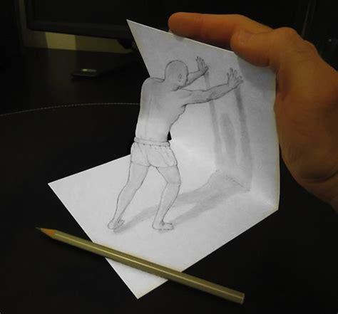 tutorial gambar 3d paling mudah wow gambar 3d pensil di kertas ini keren bro dp bbm