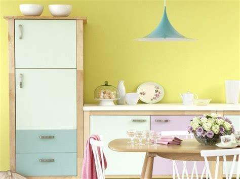 Cuisine Mur Jaune by Couleur Pastel De La Douceur Dans Votre D 233 Co Architecture