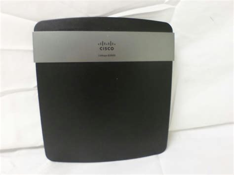 Cisco Linksys E2500 Wireless Dual Band Router cisco linksys e2500 n600 advanced simultaneous dual band wireless n router black ebay
