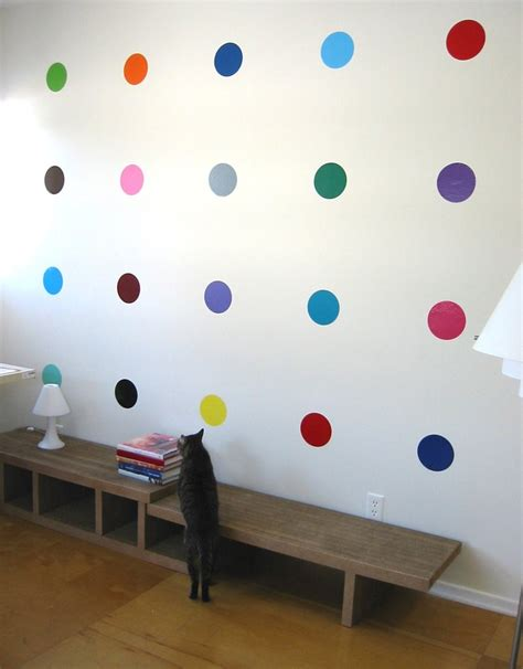 polka dot wall stickers colorful polka dot wall decals blik sweet 16