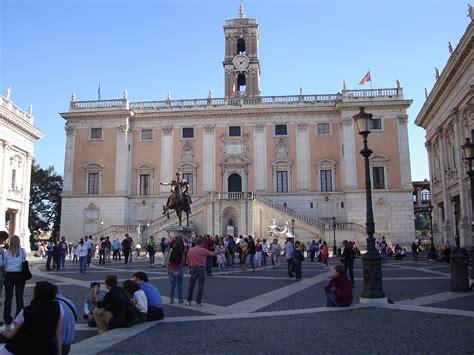 dei senatori file palazzo dei senatori in the piazza cidoglio jpg