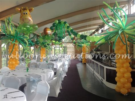 jungle theme birthday decoration ideas birthday decorations balloons for birthdays