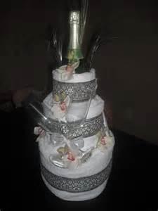bridal shower towel cake great gift ideas pinterest