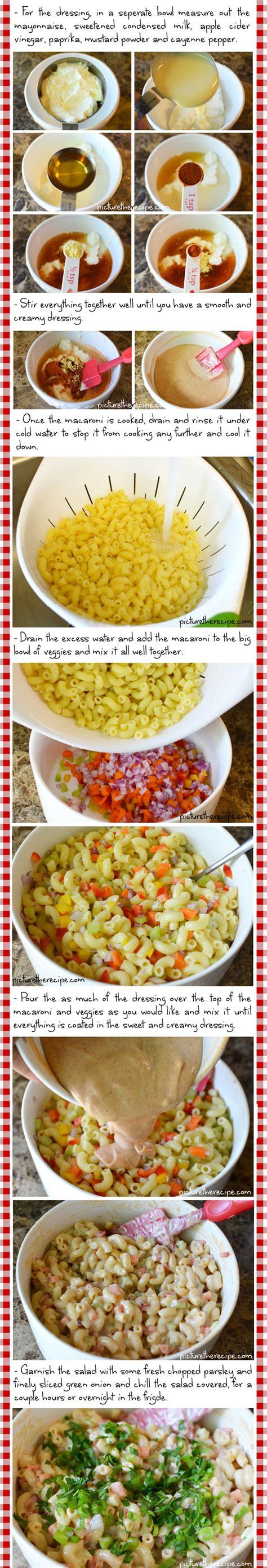 Sweet N Creamy Macaroni Salad Picture The Recipe | sweet n creamy macaroni salad recipe part2 picture the