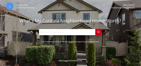 learn the value of your cordata neighborhood home