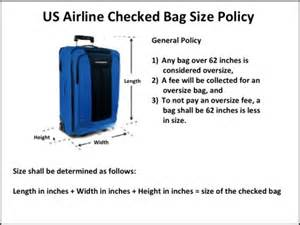 check in bag united airline carry on baggage size limits
