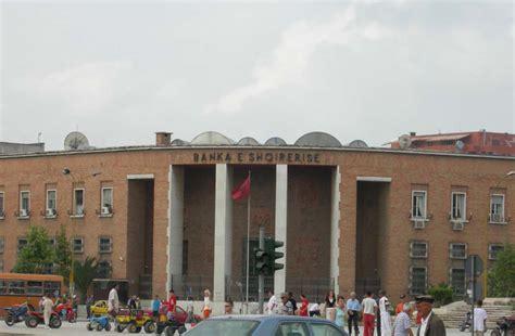 tirana bank banking albania central bank employees 7 million in