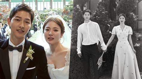 yoo ah in song hye kyo wedding song joong ki and song hye kyo release gorgeous wedding