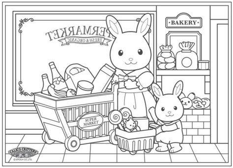 calico critters coloring pages 1000 images about coloring pages on disney