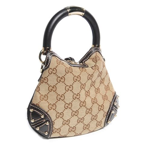 Mini Gucci Indy Bag by Gucci Monogram Mini Indy Top Handle Bag Brown 85380