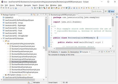 java pattern boolean java boolean logicalxor method exle