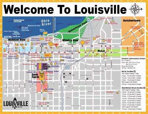 louisville map map of louisville ky gotolouisville official travel source