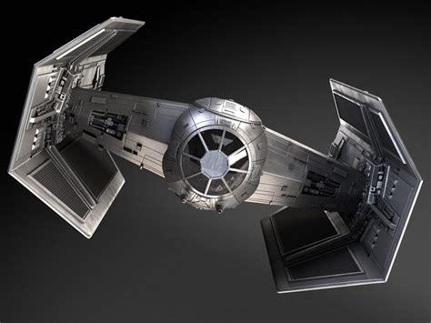 wars tie fighter advanced 3d model cgstudio