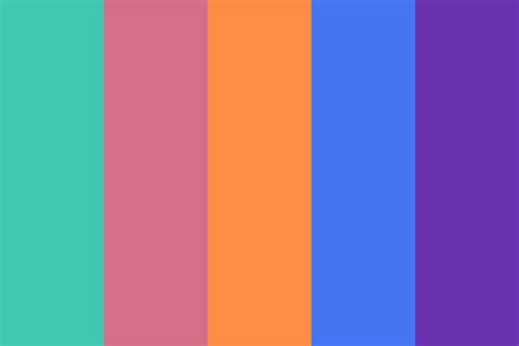 90s colors 90s library color palette