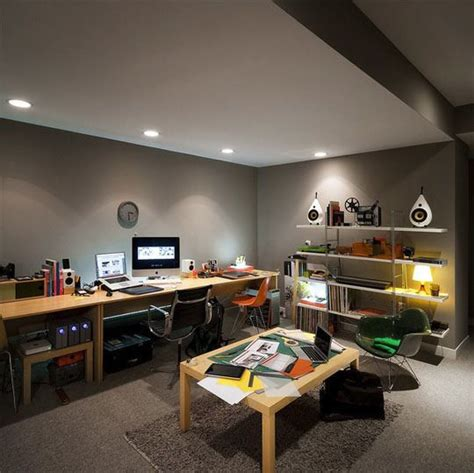 nice home offices brad gillette s isolation chamber basement home office