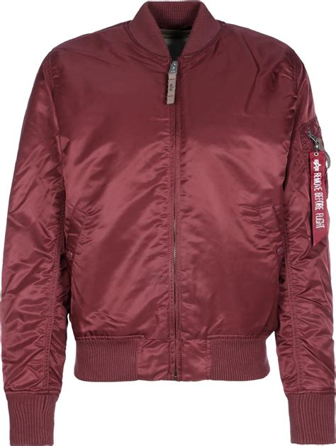 Bomber Jaket Maroon alpha industries ma 1 vf 59 bomber jacket maroon weare shop