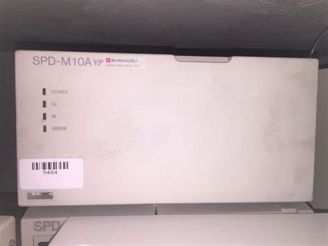 shimadzu spd m10avp diode array detector hplc diode array detector cambridge scientific