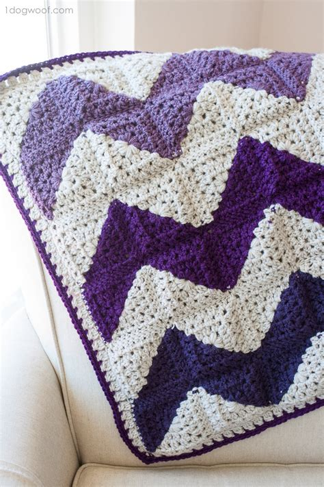 pattern crochet granny granny squares chevron afghan crochet pattern one dog woof
