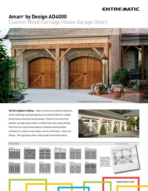 Overhead Door Greenville Sc Custom Wood Garage Doors In Greenville Overhead Doors Of Greenville