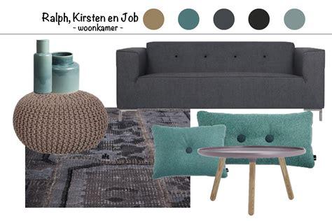 Interieur Blauw Grijs by Interieur Advies Bruin Zwart Grijs En Blauw Groen