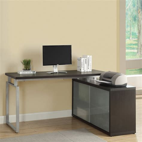 Monarch L Shaped Desk Monarch Specialties I 7 L Shaped Desk Lowe S Canada
