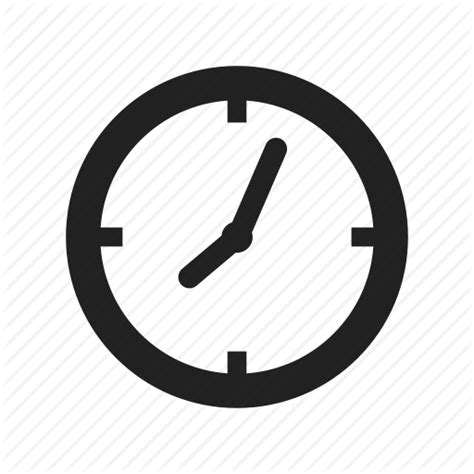 time vector iconfinder minimalist contact by yellowline